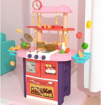 京东商城 新低价:贝恩施 儿童仿真过家家厨房玩具 79元包邮(双重优惠,直降120元)