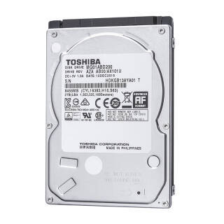 东芝(TOSHIBA) 2TB 128MB 5400RPM 笔记本机械硬盘 SATA接口 轻薄型系列 (MQ04ABD200) 行动运算应用存储 499元