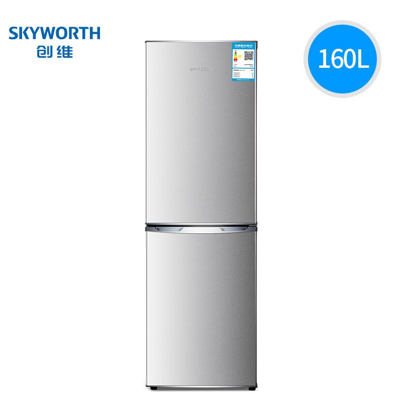 创维(Skyworth) D16AM 160L升 双门冰箱 799元