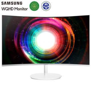 三星(SAMSUNG) C27H711Q 27英寸 VA曲面显示器(2560×1440、量子点、FreeSync) 1799元