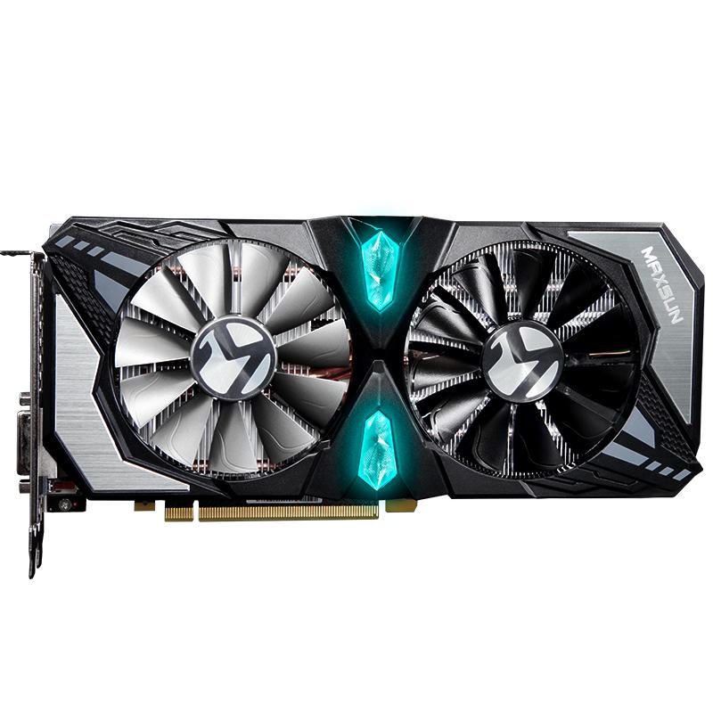 MAXSUN/铭瑄RTX2060终结者Super 8G电脑台式机游戏独立显卡n卡S 2899元