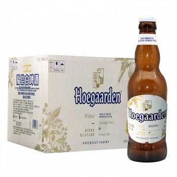 京东商城 Hoegaarden 福佳 小麦白啤酒 330ml*24瓶 *3件 278元(合3.86元/瓶,多重优惠)