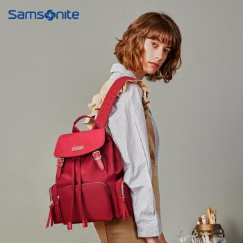 Samsonite 新秀丽 TQ4 双肩背包 红色 319元包邮(双重优惠) ¥319