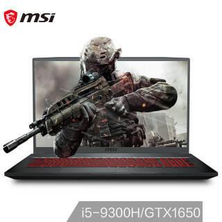 微星(msi) GF75 17.3英寸游戏本(i5-9300H 、8GB、512GB、GTX1650) 6269元