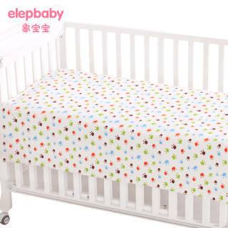 象宝宝(elepbaby)婴儿床单 140x90cm奇趣脚丫 *2件 59元(合29.5元/件)