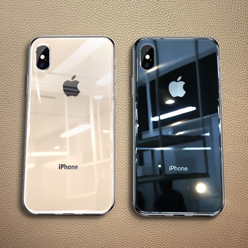 领先卫苹果X手机壳iPhone XS MAX透明iphone超薄硬壳iphoneXr硅胶XR玻璃防摔软套iPhoneXmax外壳网红男液态潮 25元