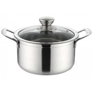 304不锈钢汤锅复底加厚锅家用煤气炉电磁炉通用 89元