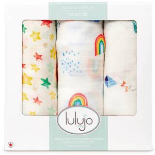Lulujo Baby 婴儿包巾盖毯 215元