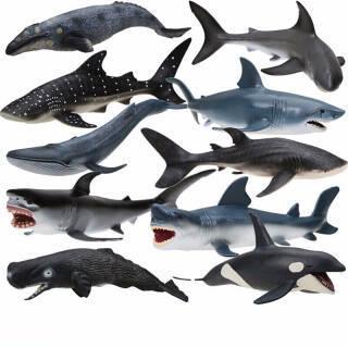 活石(LIVING STONES) 仿真模型玩具 十只装海底世界全套  券后198元