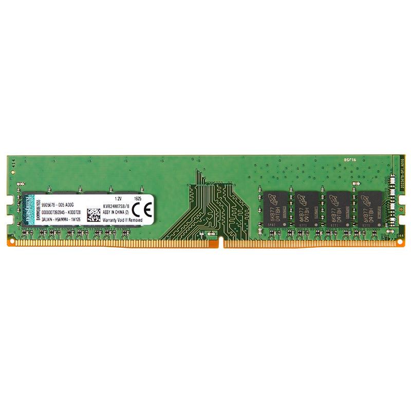 Kingston 金士顿 8GB DDR4 2400 台式机内存条 259元