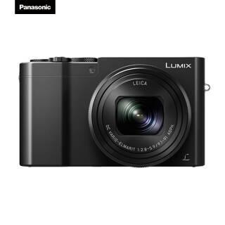 松下(Panasonic) Lumix DMC-ZS110 1英寸数码相机 黑色 2998元