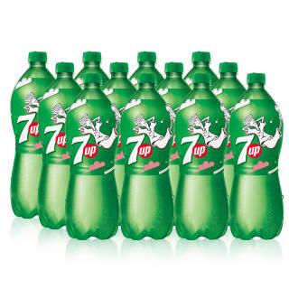 七喜 7UP 柠檬味 汽水碳酸饮料 1L*12瓶 整箱装 百事可乐公司出品 38.8元