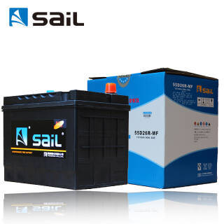 sail 风帆 汽车电瓶蓄电池55D26L/R 12V 长城哈弗H3 以旧换新上门安装 392元