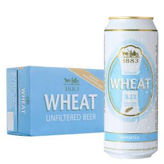 德博自然浑浊型小麦啤酒500ml*24听整箱装 德国进口 *2件 159.82元(合79.91元/件)