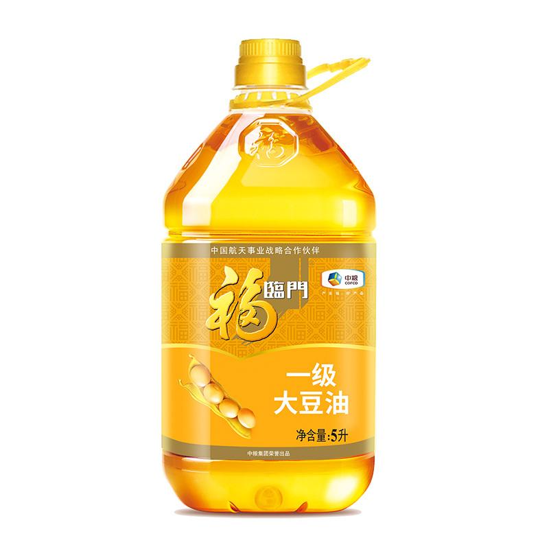 福临门 一级大豆油 5L/桶 *4件 107.36元(合26.84元/件)