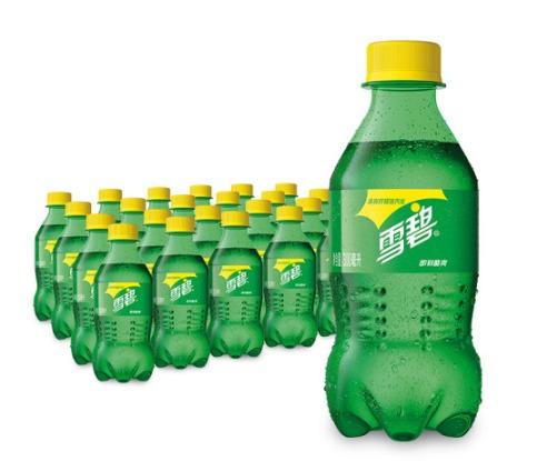 Sprite 雪碧 柠檬味 碳酸饮料 300ml*24瓶 *2件 59.4元(下单立减)