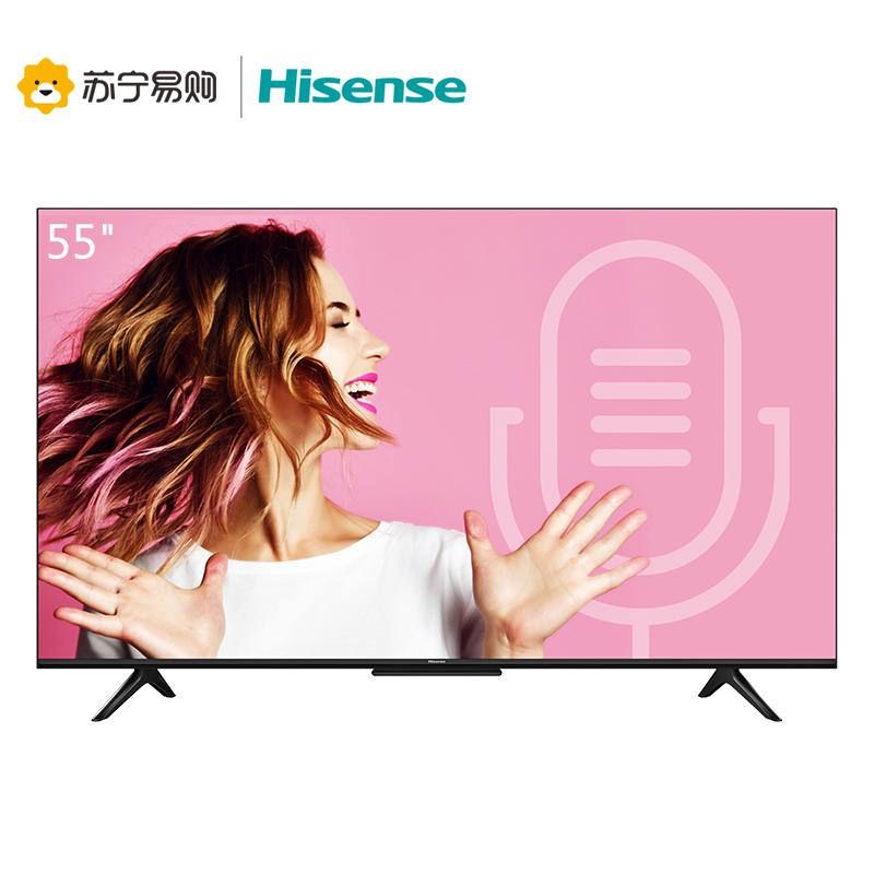 海信(Hisense) HZ55E3D-PRO 4K 液晶电视 55英寸 2499元