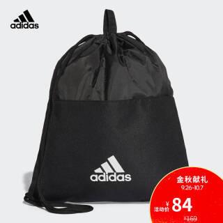 阿迪达斯(adidas) 训练 男女 抽绳袋 黑 CF3286 如图 NS 64元