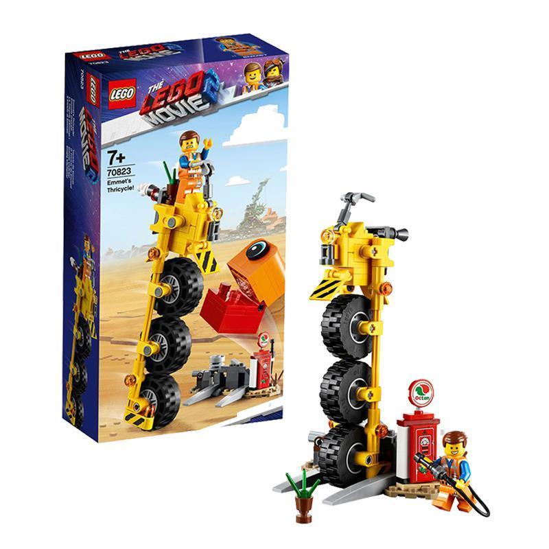 考拉海购黑卡会员: LEGO 乐高 乐高电影系列 70823 艾米特的三轮自行车 *2件 190.08元包邮包税(合95.04元/件)
