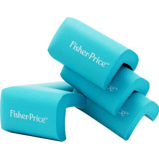 费雪(Fisher Price)母婴 宝宝安全防撞角 加厚款L型(蓝色4个装)F1718-4 *10件 99元(合9.9元/件)