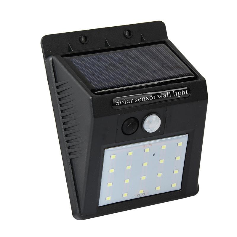 KINTEN 太阳能灯人体感应灯庭院灯LED户外防水壁灯 28.8元