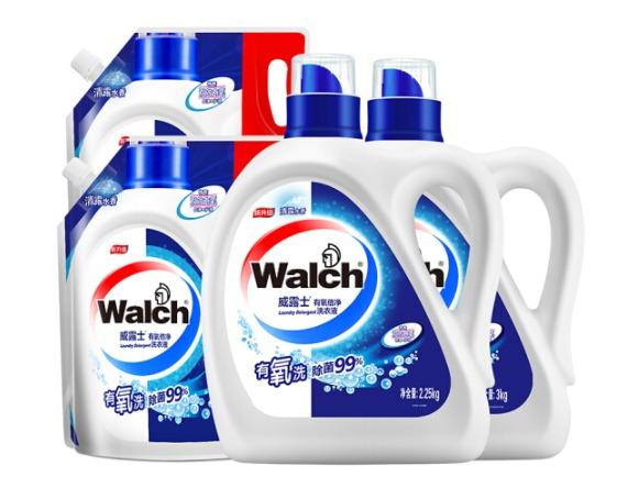 4日0点、PLUS会员:Walch 威露士 有氧洗衣液 18.5斤 *2件 95元(2件5折,合47.5元/件)
