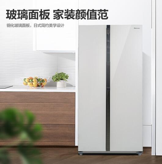 Panasonic 松下 NR-EW58G1-XW 570升 对开门冰箱 4290元包邮