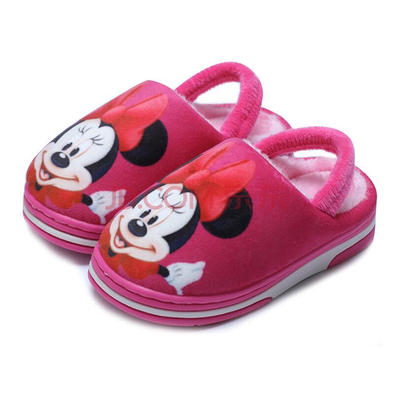 ¥16.9 限地区:DISNEY 迪士尼儿童棉拖鞋 *10件 169