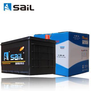 sail 风帆 汽车电瓶蓄电池6-QW-48 五菱荣光征程鸿途 以旧换新上门安装 厂家直发 338元
