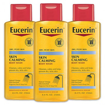 Eucerin优色林 舒缓保湿沐浴油 250ml*3瓶装 6.5折 直邮中国 ¥129.63