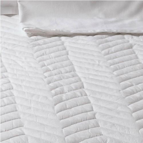 罗莱家纺 床上用品 床笠时尚提花床笠式床褥 三明治床护垫 399元
