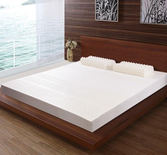 10日12点: PARATEX 泰国进口天然乳胶床垫 180*200*5cm 1999元包邮(限2小时)