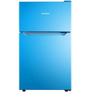 容声(Ronshen) 92升 迷你彩色双门冰箱小型 深冷速冻 节能静音 迈锡尼蓝 BCD-92D11D 899元