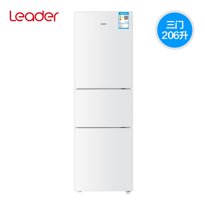 统帅(Leader) BCD-206LSTPF 206L 三门冰箱 1199元