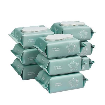 16日10点、88VIP:babycare 婴儿湿巾 80抽 9包装 68.55元包邮(前1小时,需用券) ¥109
