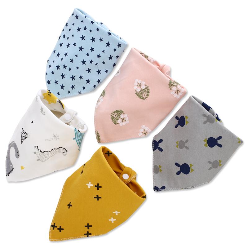 婴儿三角巾 宝宝口水巾 12.8元
