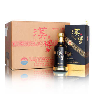 茅台 汉酱 135BC 51度 整箱装白酒 500ml*6 酱香型白酒 5988元