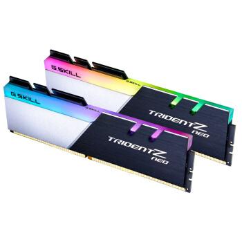 16日0点、历史低价: G.SKILL 芝奇 Trident Z Neo 焰光戟 16GB(8GB×2) DDR4 3600 RGB台式机内存条 799元包邮