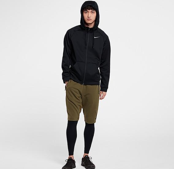 双11预售: NIKE 耐克 THERMA AJ4451 男款连帽夹克 189元