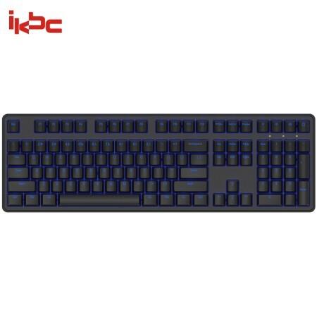 iKBC raceman系列 R300 机械键盘(Cherry茶轴、PBT、单色背光) 348元包邮 ¥348