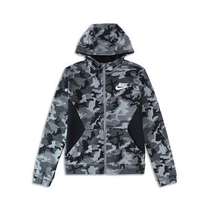 ¥149 Nike 耐克官方NIKE CLUB FLEECE FZ AOP 大童(男孩)夹克