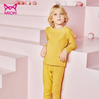 猫人(Miiow) 儿童保暖内衣套装 *2件 59.8元(需用券,合29.9元/件)