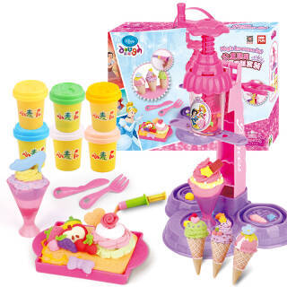 迪士尼(Disney)冰淇淋蛋糕彩泥橡皮泥套装 手工DIY儿童玩具礼品 DS-1613 *2件 49.8元(合24.9元/件)
