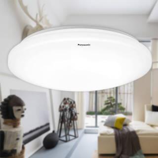 松下(Panasonic) HHLA1630CB LED吸顶灯 19W 素白 *2件 139.04元(合69.52元/件)