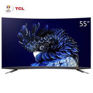TCL 55Q960C 55英寸 4K 量子点 曲面液晶电视  券后3699元