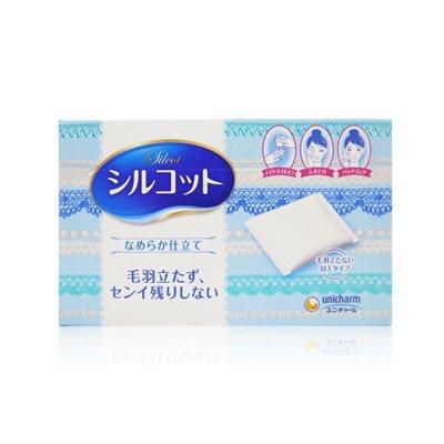 ¥26.7 【包邮包税】尤妮佳 Silcot柔软化妆棉卸妆82枚*3件