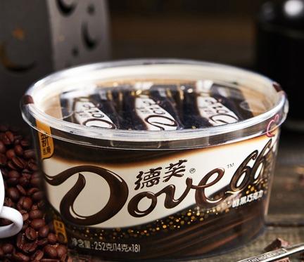 21日0点、双11预售: Dove 德芙 66%可可纯黑巧克力 252g*4碗装 69.2元(需定金20元,11日付尾款)