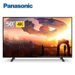 松下( Panasonic)电视 TH-50FX580C 50英寸 4K超高清HDR 安卓6.0系统 WiFi智能液晶电视机 2299元