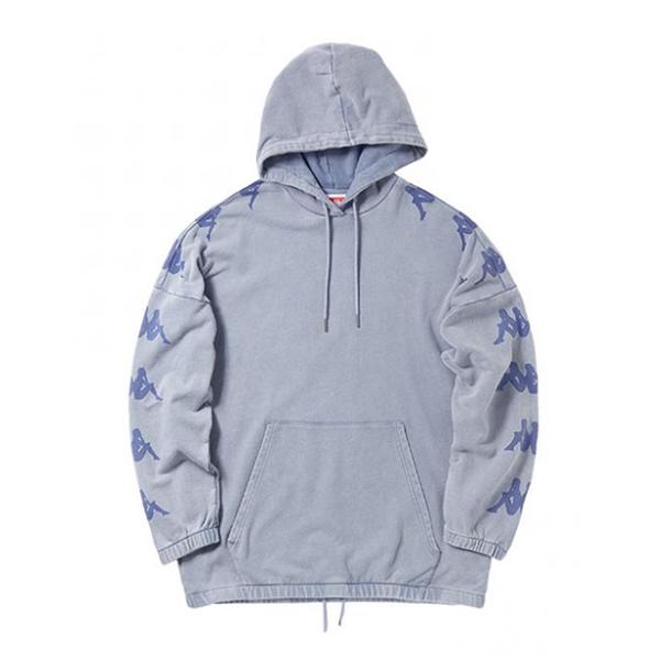 Kappa卡帕BANDA串标情侣男女运动宽松帽衫外套 预售价449