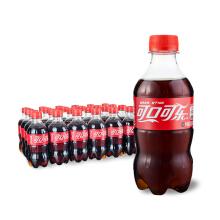 京东商城 新降价、多款可选:Coca-Cola 可口可乐 300ml*24瓶 30.9元(合1.29元/瓶)